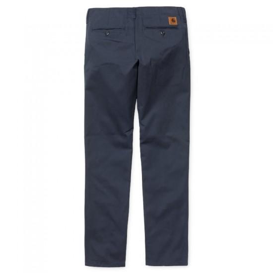 Carhartt - Pantalon chino club bleu marine