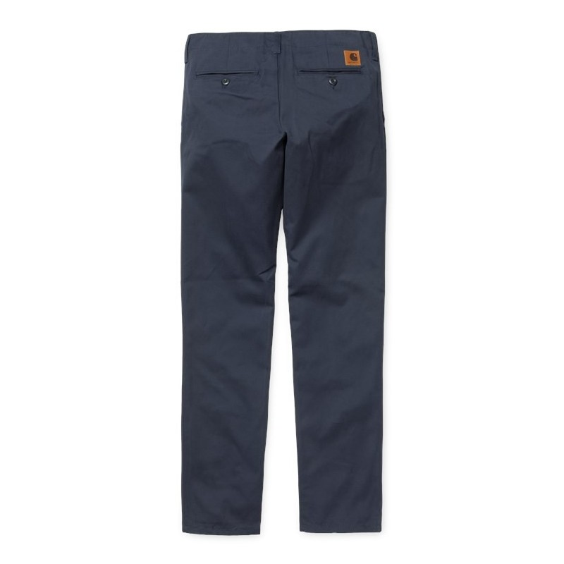 f9b20c7c8bed Carhartt - Pantalon chino club bleu marine. Loading zoom