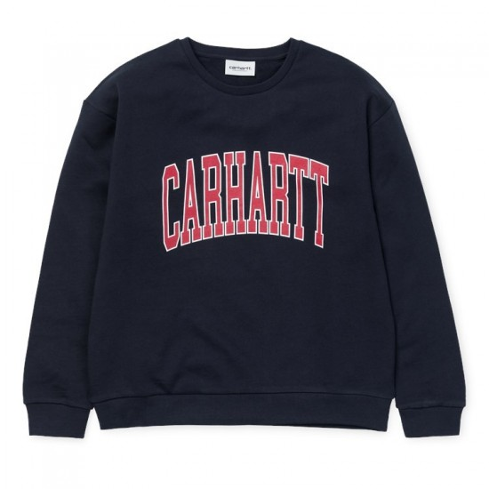 Carhartt - Sweat bleu marine