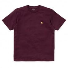 Carhartt -Tee-shirt ample bordeaux