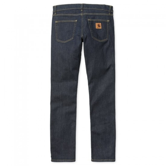 Carhartt - Jeans slim Rebel Pant bleu denim