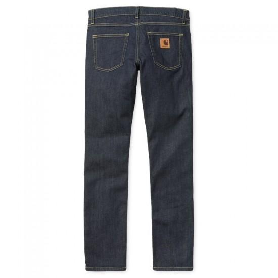 Carhartt - Jeans slim Rebel Pant bleu denim
