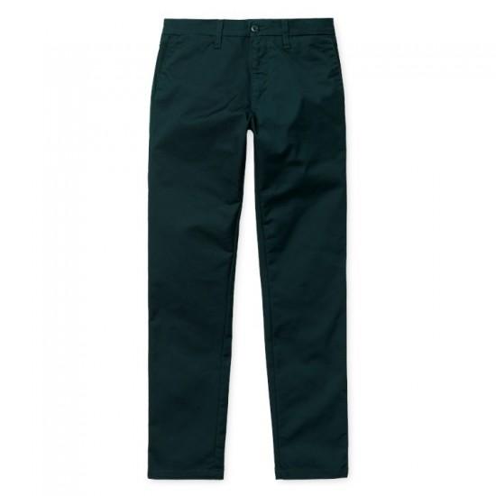 Carhartt - Pantalon chino Sid Pant vert persil
