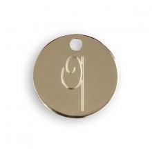 Le Bijou de Mimi - Médaille Q or