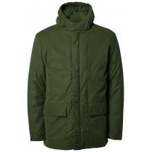 Selected - Manteau vert à capuche