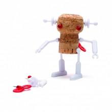 Monkey Business - Décoration robot pour bouchons de liège