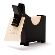 Monkey Business - Bloc notes âne Design - Noir