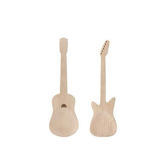 Kikkerland - Cuillères en bois guitare