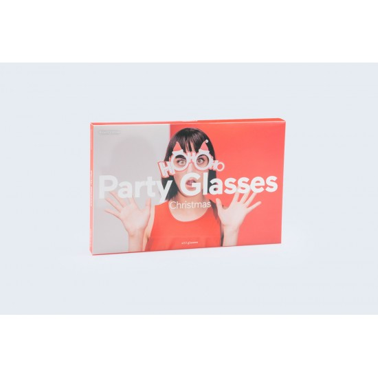 DOIY - Party glasses christmas - 10 lunettes papiers