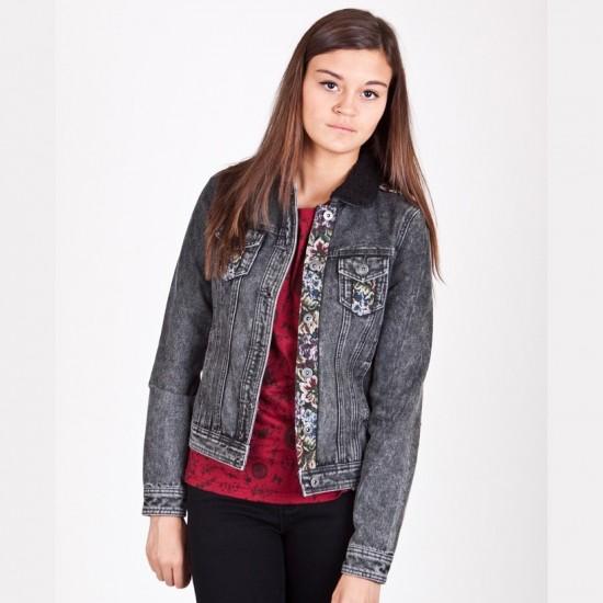 Bellfield - Veste en jean délavé vintage