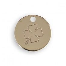 Le Bijou de Mimi - Médaille trèfle or