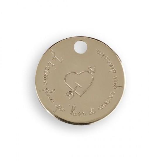 Le Bijou de Mimi - Médaille oiseau or