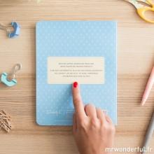 Mr wonderful - Cahier de notes adhésives