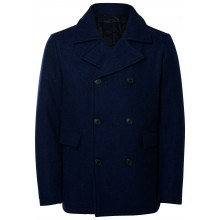 Selected - Manteau long marine