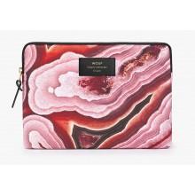 Woouf - Housse motif minéraux roses pour tablette et iPad