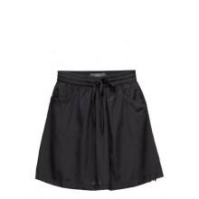 Ichi - Short noir à dentelle