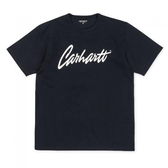 Carhartt WIP - T-Shirt bleu marine