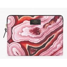 """Woouf - Housse motif minéraux roses pour ordinateur 13"""""""