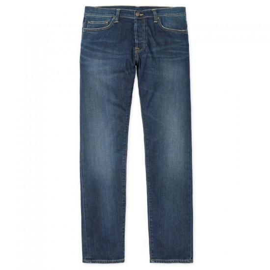 Carhartt - Jeans Klondike Bleu délavé