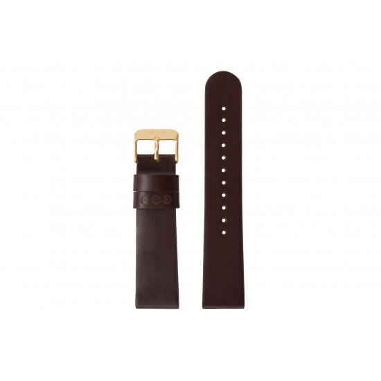 Komono - Bracelet montre Winston burgundy/gold