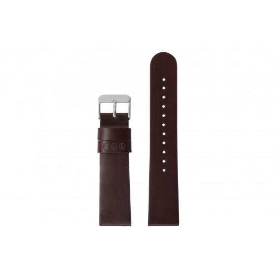 Komono - Bracelet montre Winston burgundy/silver
