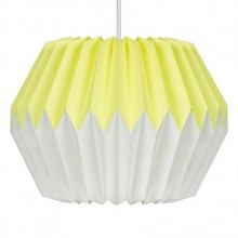Wild & Wolf - Suspension luminaire en papier Lemon Yellow