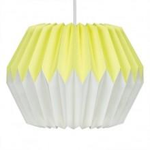Wild & Wolf - Suspension luminaire en papier Lemon Yellow