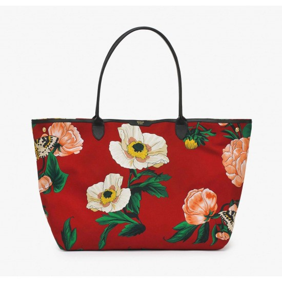 Woouf - Grand sac cabas imprimé jardin