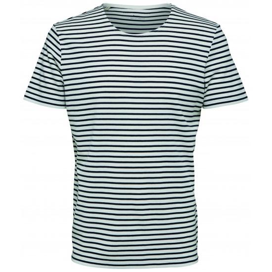 Selected homme - T-shirt marinière