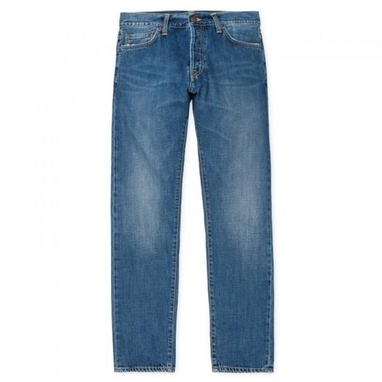 Carhartt - Jeans Klondike blue true stone edgewood