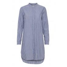 Ichi - Robe chemise à rayures