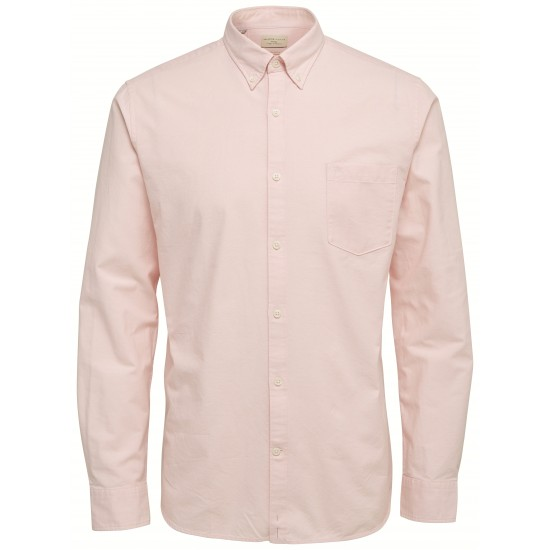 Selected homme - Chemise rose pâle