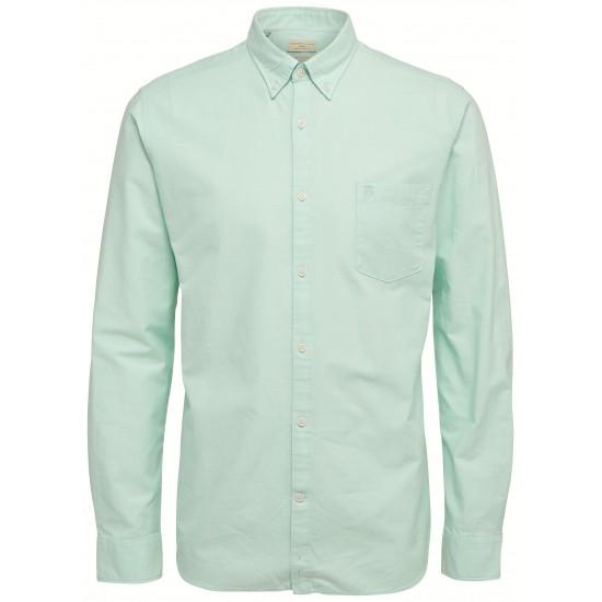 Selected homme - Chemise vert d'eau