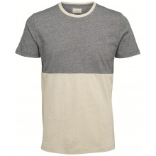 Selected homme - T-shirt chiné bicolore