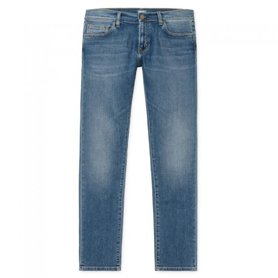 Carhartt - Jeans slim Rebel Pant bleu bleu clair