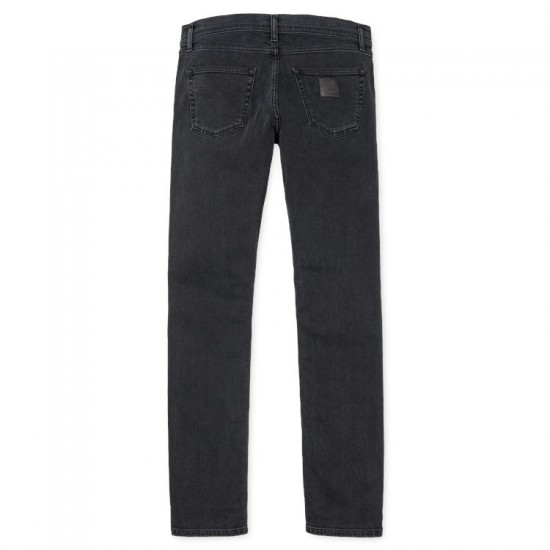 Carhartt - Jeans noir slim fit