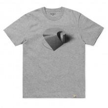 Carhartt WIP - T-shirt gris logo échelle