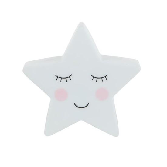 Sass & Belle - Veilleuse étoile blanche