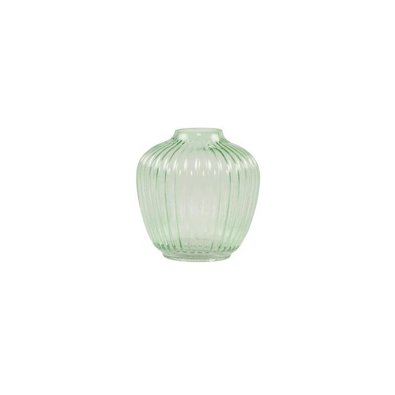 Sass belle vase rond en verre transparent - Vase rond en verre ...