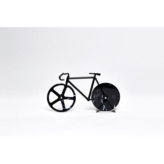 DOIY - Couteau à pizza vélo fixie marbre noir