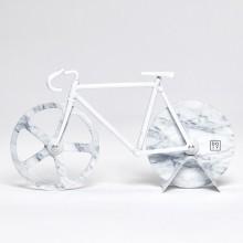 DOIY - Couteau à pizza vélo fixie marbre blanc