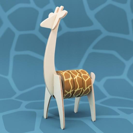 Luckies - Dérouleur masking tape girafe