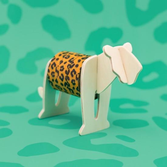 Luckies - Dérouleur masking tape léopard