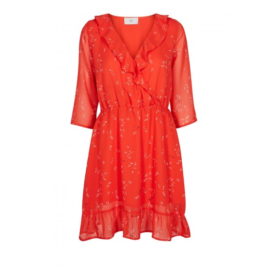 Minimum - Robe rouge à motifs