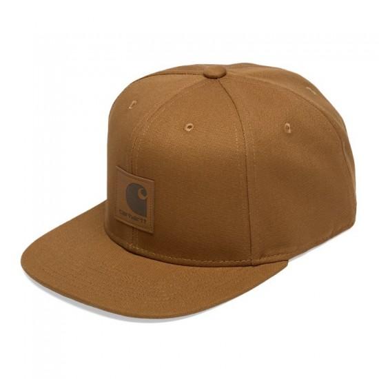 Carhartt WIP - Casquette marron logo cap