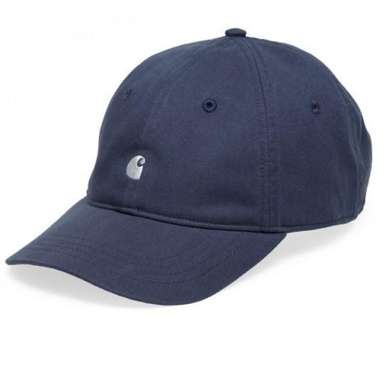 Carhartt WIP - Casquette bleu logo carhartt