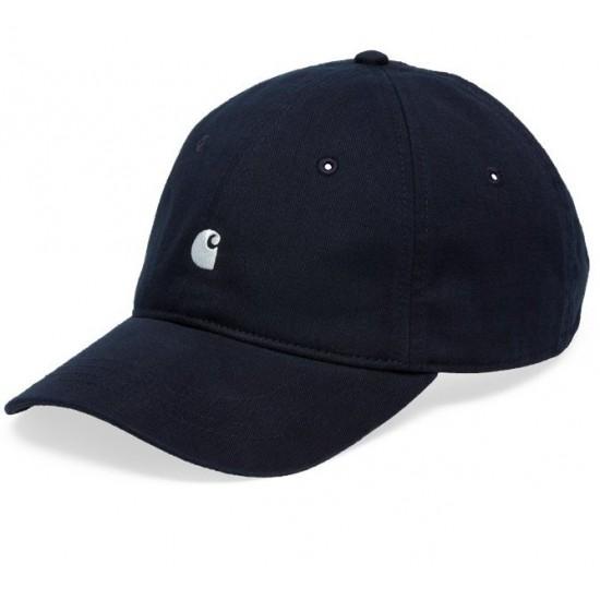 Carhartt WIP - Casquette bleu marine logo carhartt