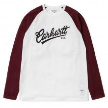 Carhartt WIP - T-shirt blanc manches longues