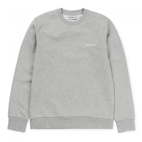 Carhartt - Sweat gris chiné