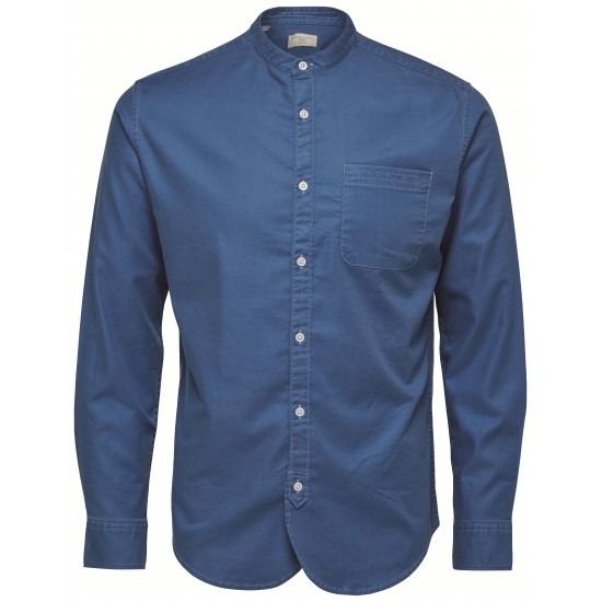 Selected homme - Chemise bleu jeans